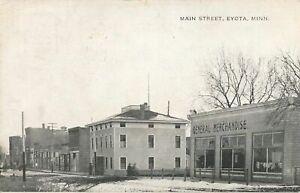 EYOTA MN - Main Street - 1909
