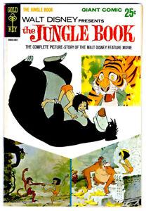 Walt Disney's Presents THE JUNGLE BOOK #1 in VF a 1967 Gold Key Silver Age comic