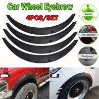 4pcs Car SUV Universal Mudguards Flares Arches Wheel Eyebrow Protector Universal