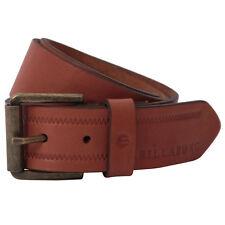 Billabong Helmsman Antique Brown Leather Belt Medium