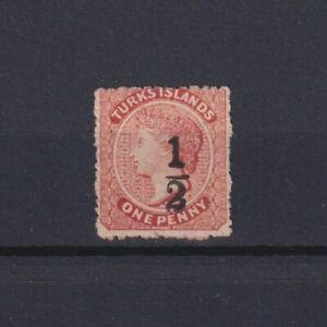TURKS ISLANDS 1881, SG# 18, CV £95, NG