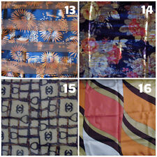 Fashion wrap head neck scarf silk polyester cotton cancer pt 4 Assorted styles