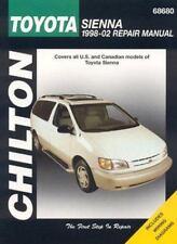 Toyota Sienna, 1998-2002 (Haynes Repair Manuals) by Chilton