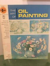 Grumbacher Vtg Art of Oil Painting 1965 How To Steps Instruction Book 40002 Exc