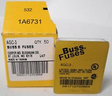 Bussmann AGC-3 Fuses (10 sets of 5 fuses)