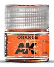 AKI INTERACTIVE Real Colors Orange Acrylic Lacquer Paint 10ml Bottle RC9