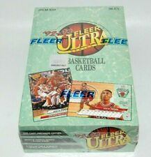 BASKETBALL FLEER ULTRA WAX BOX 1992-93 BRAND NEW CELLO'D SEALED BOX SERIES 1 MJ