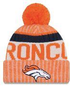 Denver Broncos Orange 17 Sideline Official New Era Knit Hat  30 64e331652