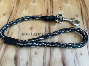 """TRAFFIC/SHORT LEASH DOGS UP TO 120 LBS-5/8"""" ROPE X 20"""" LONG-CAMO (559)"""
