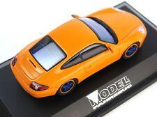 """1:43 SCHUCO PORSCHE Porsche 911 Carrera """"MODELL FAHRZEUG"""" 1997 Werbemodell"""