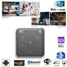 Mini 4000Lumen DLP Android 3D HD 1080P Home Cinema Projector 4K WIFI HDMI SD USB