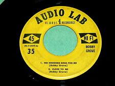 BOBBY GROVE : 4 Song EP on AUDIO LAB @ 1950s Ohio HILLBILLY