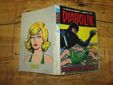 DIABOLIK  ORIGINALE ANNO V°  NUMERO 3 TRAGICHE NOTTI SODIP 1/2/1966