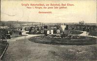 Bad Eilsen Niedersachsen AK 1906 Voigts Naturheilbad Garten Ansicht Personen