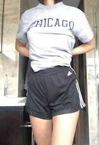 Adidas Women's Black Mesh Shorts Size L