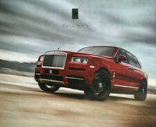 Rolls Royce Cullinan Prestige Hardback Brochure