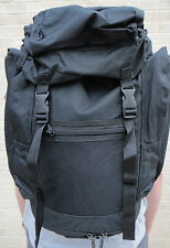 British Army Black 30L Patrol Field Day Pack Rucksack Bergen Bag Backpack