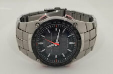 Seiko Sportura Duo-Display World Time, Alarm Stainless Steel Watch H023-0C00