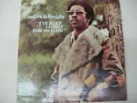 Frederick Knight - I've Been Lonely For So Long 1973 LP - Stax promo