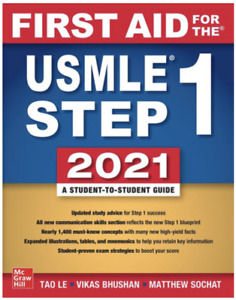 First Aid for the USMLE Step 1 2021, Thirty first edition- FREE SHIP