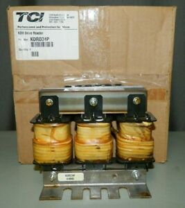 NEW TCI KDRD34P, 575V 45A 40HP 3 Phase Output Line Inductor, Drive Reactor
