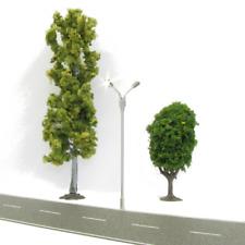 4pcs with Resistors Model Railroad Train LED Dual Lamp Post Street Lights ~ N