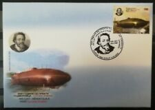 MACEDONIA NORTH 2020 - The 400th Ann. of the first submarine FDC