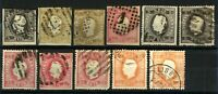 Portugal 1866/70 Range of King Luis Issues to Include '66 5r, 20r, 25r '67 Stamp
