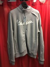 VESPA FULL ZIP SWEATER GREY L 605348M06G