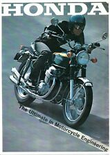 1970 HONDA CB750 FOUR K0  SUPER SPORT BIKE 8 page Motorcycle Sales Brochure NCS
