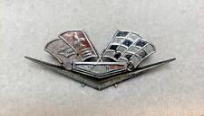 1962 1963 Chevy Impala Belair Corvette Crossed Flag Emblem Part #3792000