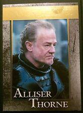 Game of Thrones - Season 4 - Gold Foil Parallel Card - #81 Alliser Thorne /150