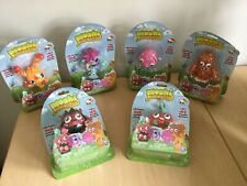 MOSHI MONSTERS MINI MONSTERS SET OF 6 POSABLE ACTION FIGURES BRAND NEW