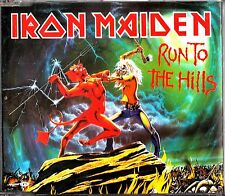 IRON MAIDEN-Run To The Hills -4 Track CD Single -2002 (Prisoner Live) Camp Chaos