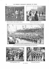 WWI General William Sibert Sammies US Army Port Saint-Nazaire ILLUSTRATION