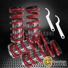 Adjustable 0-3 Suspension Red Spring Coilover Kit Civic 88-00 EF EG EK DA DC2