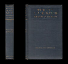 WWI  Scout Joe Cassells  WITH THE BLACK WATCH  Story of the Marne 1914-1915 Mons