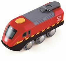 Hape Crank-Powered Train Pre-School Young Children Wooden Toy Game Bnip