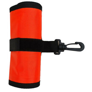 4' Scuba Diving SMB Safety Sausage Surface Marker Buoy Signal For Freediving