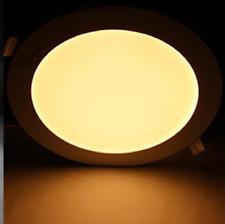 10er Pack 9W LED Panel Einbauleuchte Ultraslim Deckenleuchte Lamp Warmweiß Rund