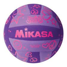 Mikasa Sports VSV Series Squish Outdoor Volleyball, Purple & Pink