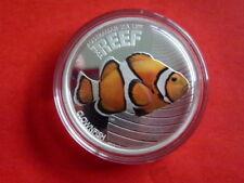 Australien 1/2 Unze Silbe ~ 2010 REEF Clownfish ~ pp