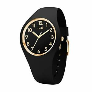 Ice-Watch - ICE glam Black Gold Numbers - Women's wristwatch with silicon strap