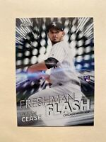 2020 Topps Chrome Freshman Flash Dylan Cease Refractor Rookie Card Insert - RARE