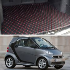 Grade PU Leather Car Trunk Mat Cargo Pad Fit for Smart fortwo 2007-2014