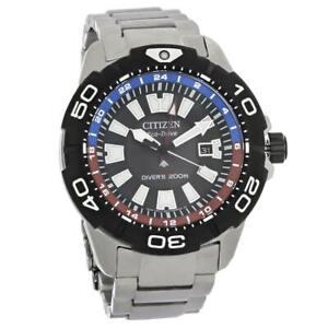 Citizen BJ7128-59E Men's Promaster Diver GMT Eco-Drive Watch