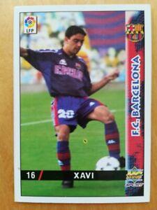 XAVI HERNANDEZ ROOKIE CARD LIGA BARCELONA 1998 1999