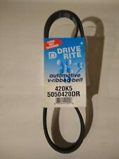 Drive Rite Automotive Serpentine Belt Part # 420K5