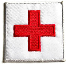 THE RED CROSS ARMY PATCH Military first aid iron on/ sew on soldier jacket badge