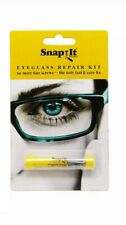 Snapit Glasses Repair Kit With Long Easy Fit Screws and Micro Screwdriver